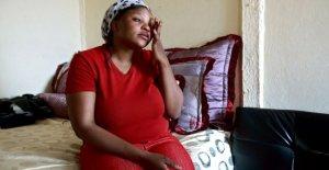 El sur de áfrica, la Violencia en platino exposición fotográfica sobre los abusos contra las mujeres en el área de las minas