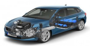 Escala de 1.0 G-Tec, Škoda planteado el sedán compacto