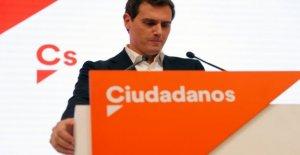 Las elecciones en España, después de la derrota en las urnas, dimite como presidente de Ciudadanos Rivera