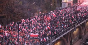 Polonia, decenas de miles de personas en la marcha de la extrema derecha a las calles de Varsovia