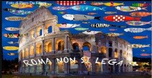 Sardinas, también en Roma: La región de Lazio no se une, nos puede ser de un millón en las calles?