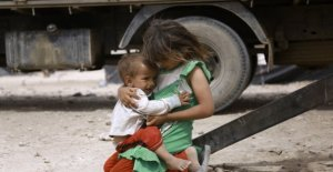 Siria, los niños mueren por miles cada año bajo las bombas de una guerra que nunca termina