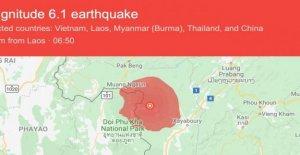 Terremoto en Laos también se sintió en Tailandia: el miedo antes de que el discurso de Bergoglio