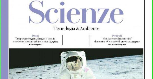 Buzza Aldrin: yo pongo la Luna