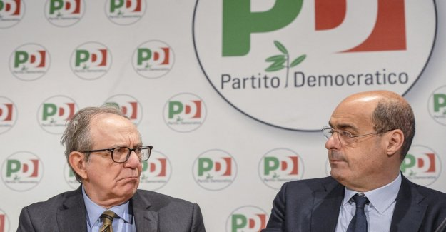 El Pd es el lanzamiento de su 'Plan de Italia'. Zingaretti: Menos impuestos, un sueldo por año a 20 millones de italianos