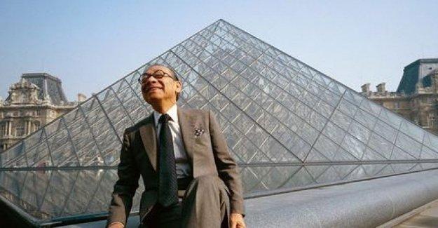 Él murió a los 102 años, el arquitecto Pei: diseñó la famosa Pirámide del Louvre