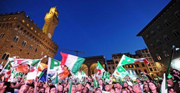 Las plazas europeas, todas las marchas, cierre de
