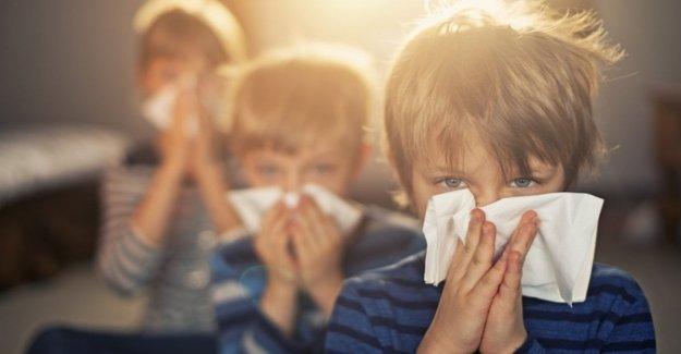 Los niños, balas inteligentes contra el aumento de las alergias