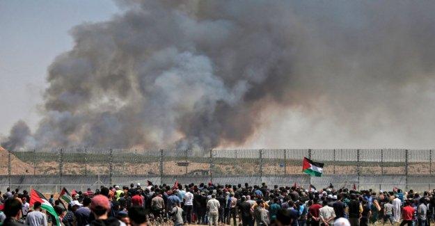 Los palestinos celebran la Nakba, los heridos de la frontera con Gaza