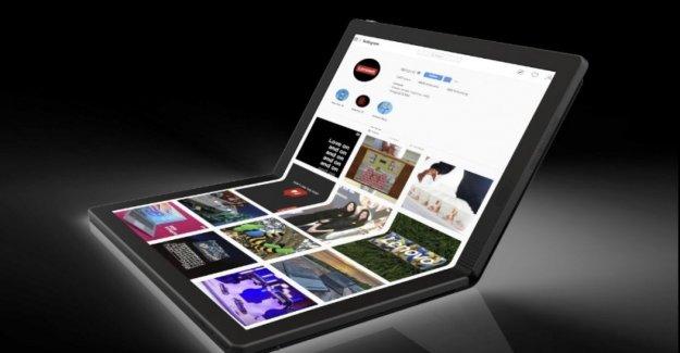 No sólo los teléfonos inteligentes: Lenovo, aquí está el portátil con la pantalla plegable