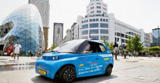 Noé, el primer coche eléctrico de la bio de la economía circular