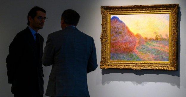 Nueva York, el récord en subasta para un Monet: golpeado a los 110 millones de dólares