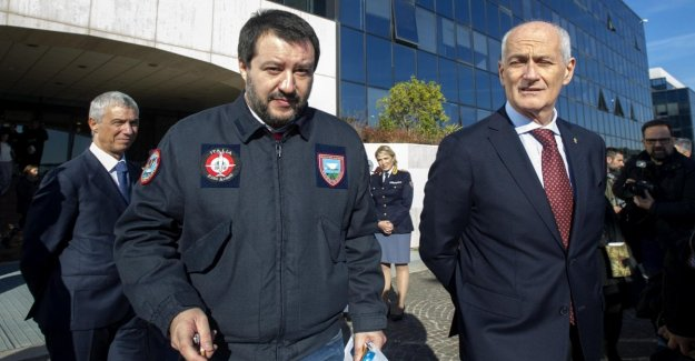 Pd : Salvini sly tarjeta