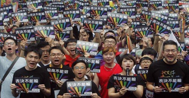 Taiwán reconoce el matrimonio gay: es el primer país asiático