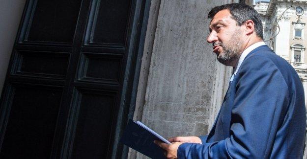 El gobierno, el ahumado negro en el plano fiscal. Y Salvini hojas de la cumbre en el Palacio Chigi de antemano