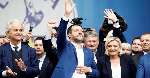 El parlamento europeo, el grupo de sovranisti se llama la Identidad y la democracia. Los comités están presididos por la liga Zanni