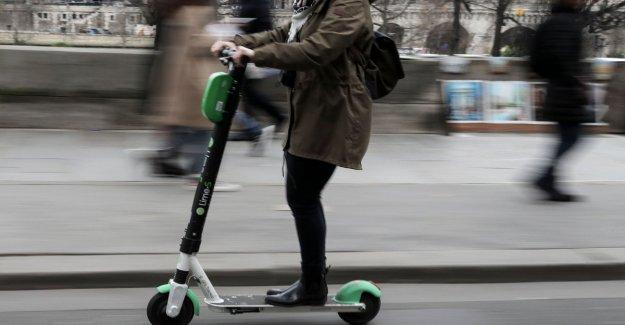 Francia, la primera víctima en el scooter eléctrico