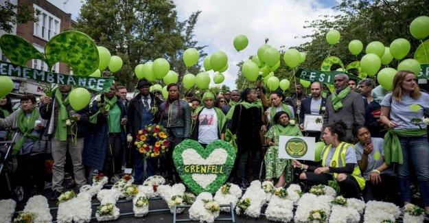 Londres, dos años después del incendio en Grenfell de la Torre. Los familiares de las víctimas piden justicia