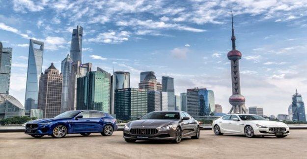 Maserati, el Grand Tour en China