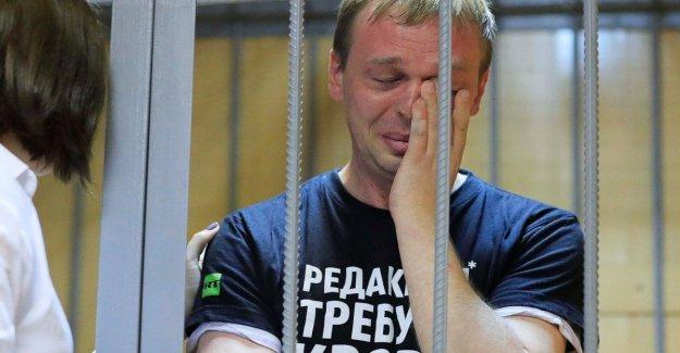 Rusia, el periodista de investigación Golunov bajo arresto domiciliario