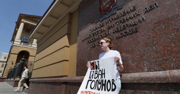 Rusia: retirar los cargos contra el periodista Golunov, ganar para impresión