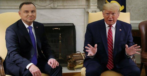 Trump: Listo para enviar a la otra de 2 mil soldados en Polonia. Reunión con Putin en la cumbre del G20