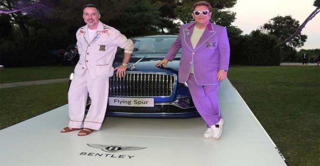 Bentley Flying Spur, 700 mil euros a la caridad
