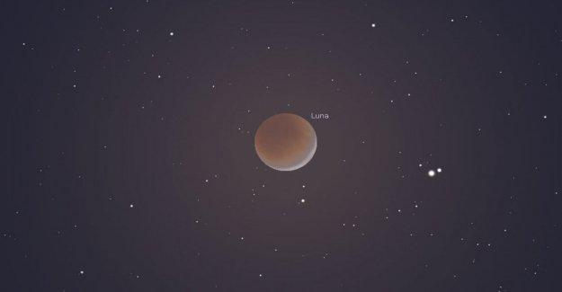 El eclipse de la Luna, las estrellas y los planetas gigantes: el espectáculo en el cielo de julio
