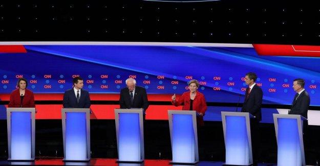 Estados unidos, los moderados contra los progresistas: el debate de la Dem debe estar en la escena, un partido dividido