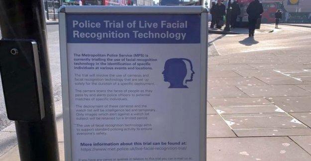 Reconocimiento Facial flops de Londres a los estados Unidos. El algoritmo que está mal en el 80% de los casos