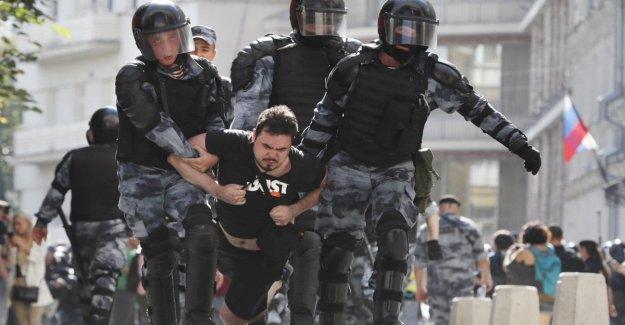Rusia, de la Ong: 435 arrestos en el caso de las elecciones municipales de Moscú