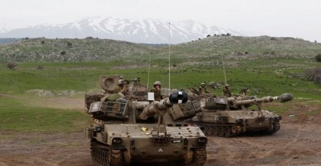 Siria raid de Israel en el sur del País