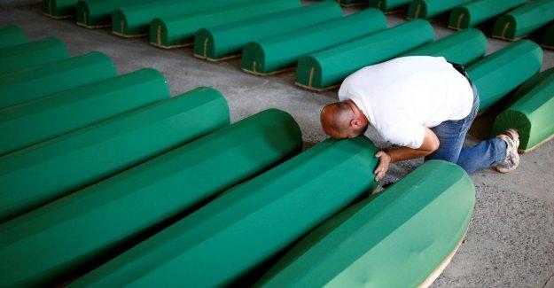 Srebrenica, los países Bajos fue sólo parcialmente los responsables de la muerte de 350 musulmanes bosnios