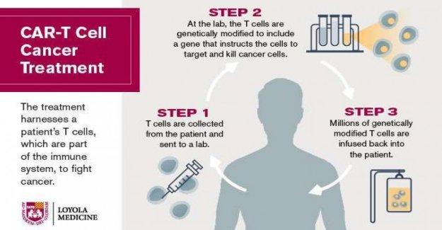 Coche-T, cómo funciona, el super de la terapia contra el cáncer de la sangre