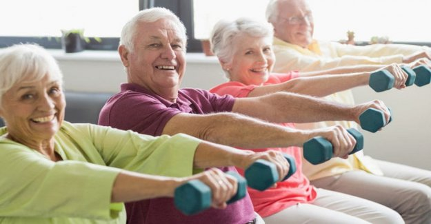 Desde el deporte son los beneficios, incluso si usted comienza a la edad de 80