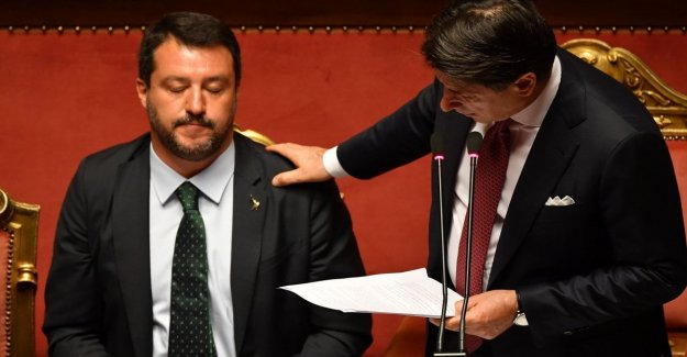 El gobierno de amarillo-rojo, de la cuenta a Salvini ganadores y perdedores
