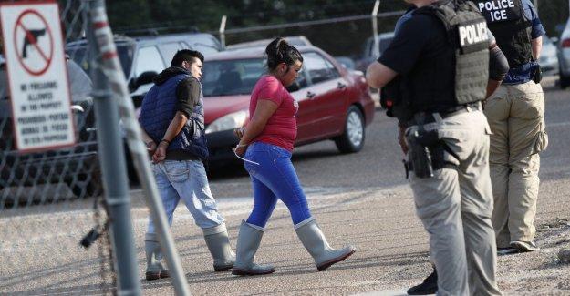 Estados unidos: detenido en las empresas en el sur-este de 680 inmigrantes indocumentados