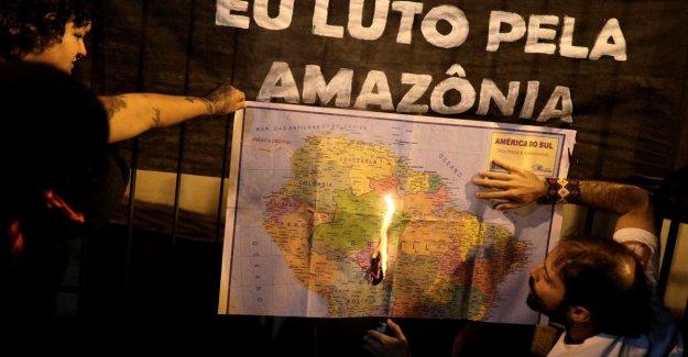 Fire de Amazon, Bolsonaro enviar el ejército y le teme a las sanciones internacionales