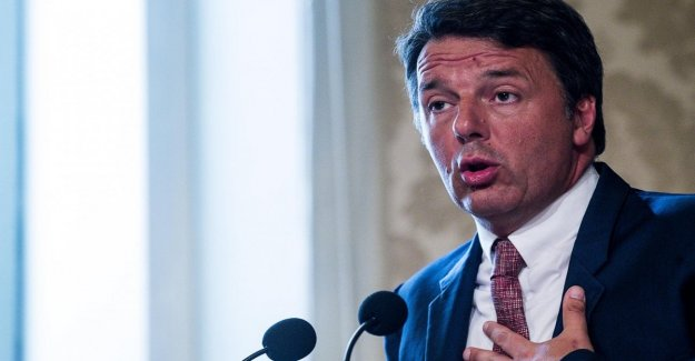 Gobierno, Renzi: Salvini sale de la escena política