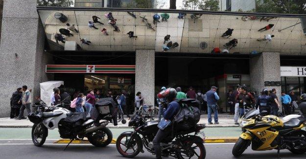 México, un golpe a la casa de la moneda de $ 2 millones en el estilo de la Casa de Papel