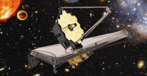 Montaje completo de la super-telescopio James Webb, el heredero de Hubble