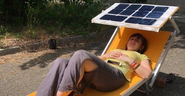 Por lo que el smartphone se está cargando en el sol: el prototipo italiano de impacto cero
