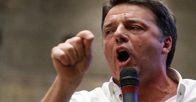 Renzi: No hay hilo rojo entre mí y Salvini