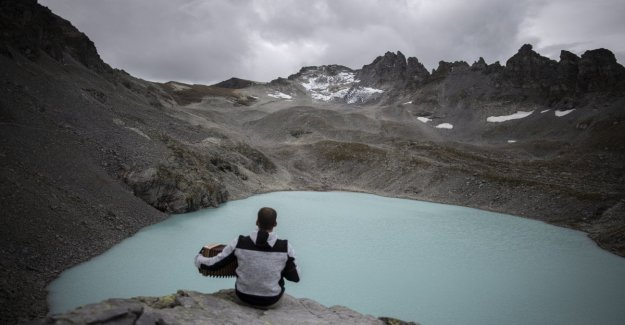 Adiós a las glaciar Pizol, el funeral de los ambientalistas