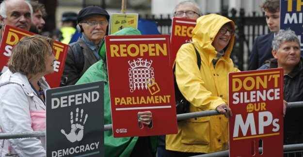 Brexit, la Corte Suprema de justicia: Detener el Parlamento es ilegal