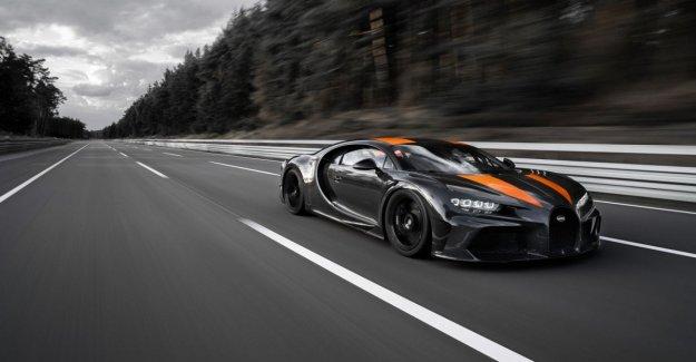 Bugatti Chiron 490 Km/h, es el registro