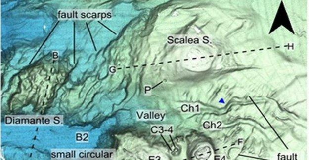 Descubierto nuevos volcanes submarinos en el Mediterráneo