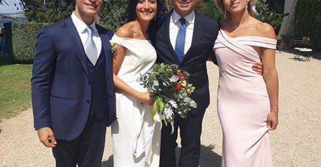El M5s, el portavoz De Maio ella se casó con él en el lago de Bracciano
