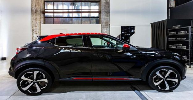 El nuevo Nissan Juke, el espacio de Edición de Estreno