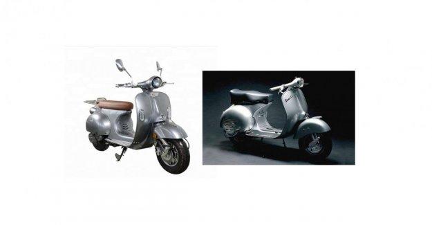El scooter chino no copia la Vespa Piaggio, la Unión Europea ha decidido